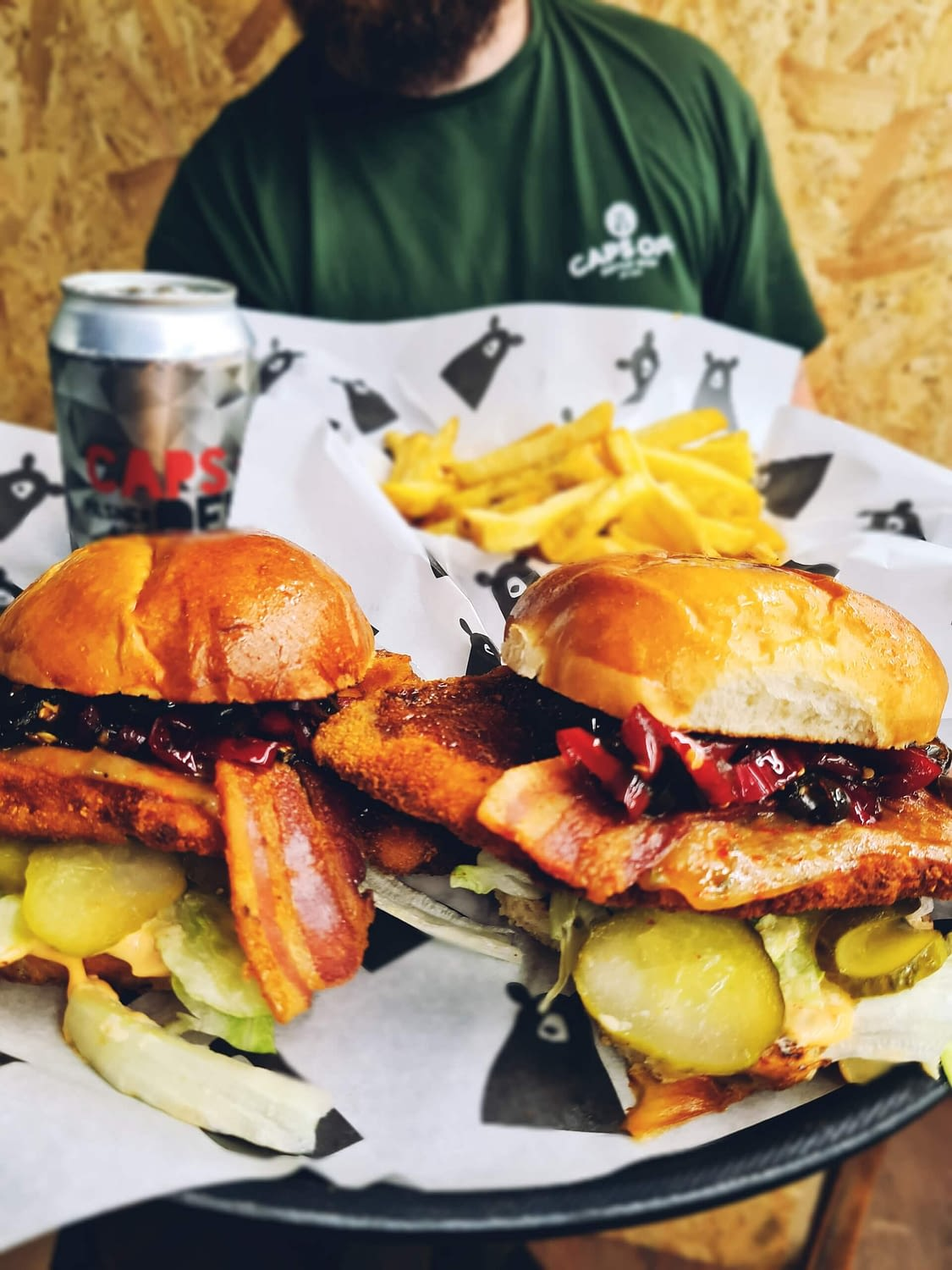 Caps Off Street Food joining us for Remedy Classics on 22nd May